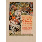 """Original Vintage French Lithograph """"Les Affiches Illustrees"""" by Grasset 1897"""