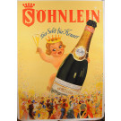 "Original Vintage German Alcoholic Poster ""SOHNLEIN"" by Funke ca. 1930"
