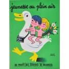 "Original Vintage French Poster ""Jeunesse au Plein Air"" by Morvan"