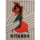 """Original Vintage French Poster Advertising """"Gitanes"""" Cigarettes by Herve Morvan"""