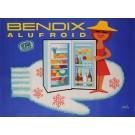 "Original Vintage French Poster Advertising ""Bendix Alufroid"" by Herve Morvan"