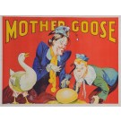 "Original Vintage Poster for ""Mother Goose"" by Taylors Printers Wombwell ca. 1930"