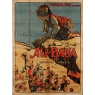 """Original Vintage French Movie Poster """"Ali-Baba et Le Quarante Voleurs"""" Bourdin"""