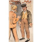 Original Vintage Poster L'Anglais tel Qu'on Le Parle by Grun 1899