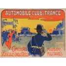 "Original Vintage French Poster ""Automobile Club de France "" by Grun 1906"