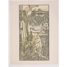 "Original French Lithograph ONLY L'Estampe Moderne N.14 ""Lutèce"" by A. GIRALDON"