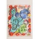 """Derriere le Miroir"" (DLM) no. 198 (1972) incl. 3 Original Lithos by Marc Chagall"