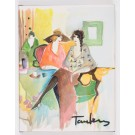 Itzchak Tarkay Works on Paper 4 Original Lithographs Signed Numbered 272/400 1993