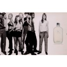 "Original Vintage French Poster for ""Calvin Klein One"" Fragrance"