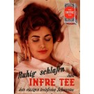 "Original Vintage Swuss Poster for ""Infre Tee"""