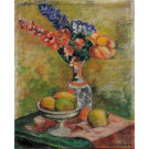 "Original Signed Oil on Canvas Painting ""Still Life"" Anne B.Maitles"