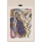 "Original Chagall Lithograph from ""The Story of the Exodus"" 1966"