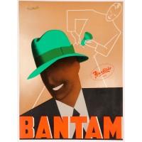 Vintage Italian BANTAM Hat Poster by BOCCASILE - Cervo - Italia