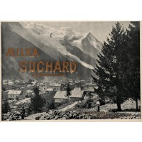 "Original Vintage Swiss Poster Advertising ""Suchard Milka"" Chocolate"