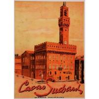"Original Vintage Swiss Chocolate Poster ""Cacao Suchard"" ca. 1920"