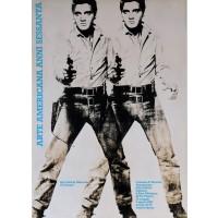 "Original Vintage French Movie Poster ""Arte Americana Anni Sessanta"""