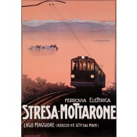 Italian Print for the Stresa Mottaronen Railway (Reproduction)