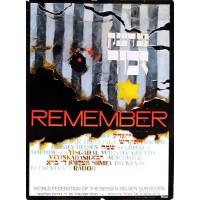 Remember... Bergen Belsen Survivors Holocaust Remembrance Poster.